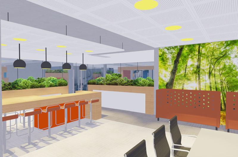 kantoor GGD ZL Heerlen interieur