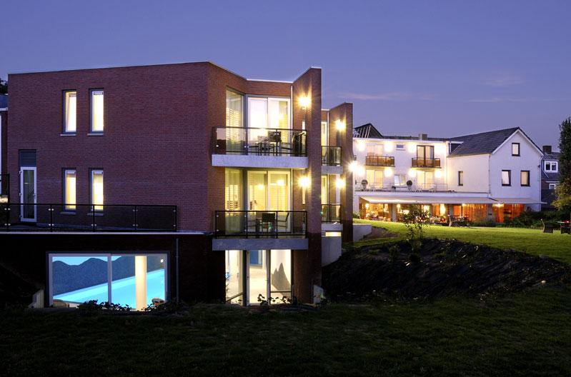 uitbreiding suites en zwembad Hotel Creusen Epen