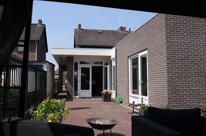 uitbreiding en verbouwing woonhuis Landgraaf