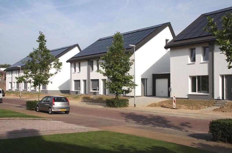Energieproducerende woningen Burgemeester Savelberglaan Kerkrade